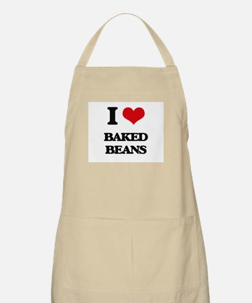 I Love Baked Beans ( Food ) Apron