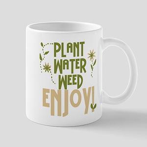 Plant Water Weed Enjoy Mug