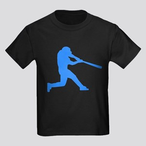 Blue Baseball Batter T-Shirt