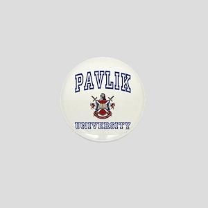 PAVLIK University Mini Button