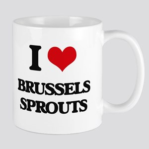 I Love Brussels Sprouts ( Food ) Mugs