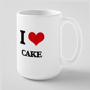 I Love Cake ( Food ) Mugs
