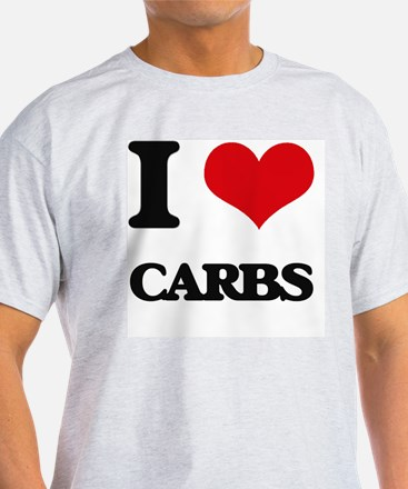 I Love Carbs ( Food ) T-Shirt