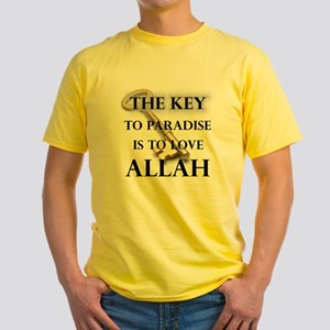 key to paradise love Allah T-Shirt