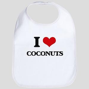I Love Coconuts ( Food ) Bib