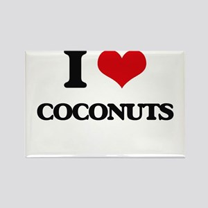 I Love Coconuts ( Food ) Magnets