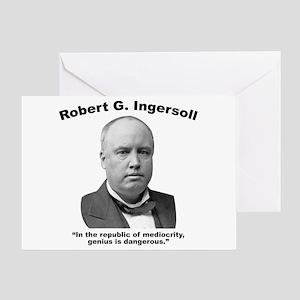 Ingersoll: Genius Greeting Card