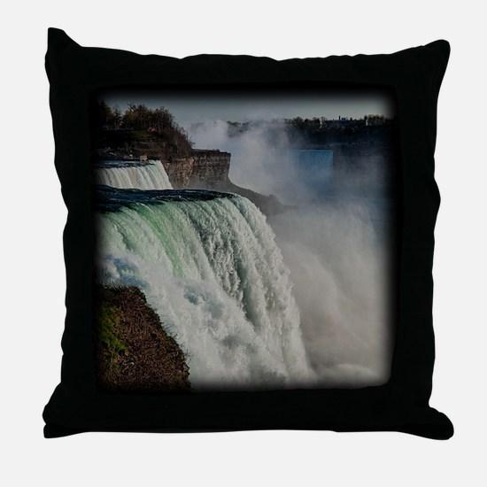 Niagara Falls 2 Throw Pillow