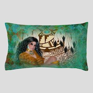 Indian Maiden Pillow Case