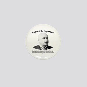 Ingersoll: Christianity Mini Button