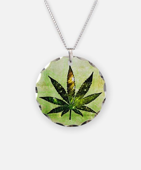 Galactic Ganja Necklace