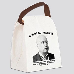 Ingersoll: Bible Canvas Lunch Bag