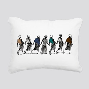Goddesses Rectangular Canvas Pillow