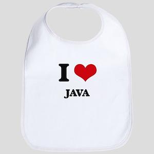 I Love Java ( Food ) Bib