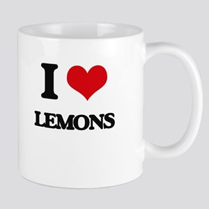 I Love Lemons ( Food ) Mugs
