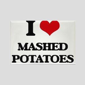 I Love Mashed Potatoes ( Food ) Magnets
