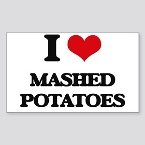 I Love Mashed Potatoes ( Food ) Sticker