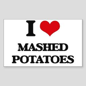 I Love Mashed Potatoes ( Food ) Sticker