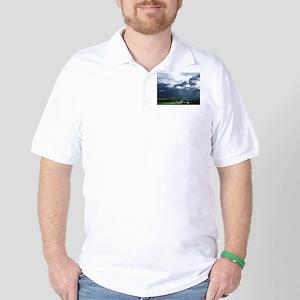 Norwegian landscape Golf Shirt