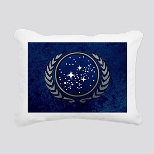 STARTREK UFP STONE Rectangular Canvas Pillow