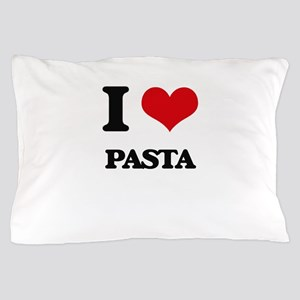 I Love Pasta ( Food ) Pillow Case