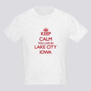 Keep calm you live in Lake City Iowa T-Shirt