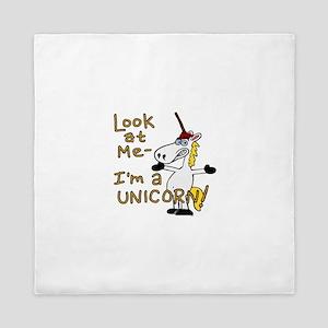 Look at me I'm a Unicorn! Queen Duvet