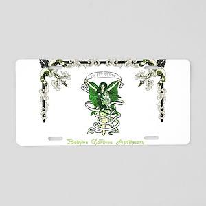 Le Fee Verte Aluminum License Plate