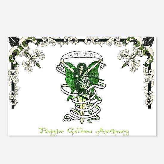 Le Fee Verte Postcards (Package of 8)
