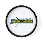 SouthernIN.com logo Wall Clock