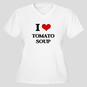 I Love Tomato Soup ( Food ) Plus Size T-Shirt