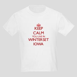 Keep calm you live in Winterset Iowa T-Shirt