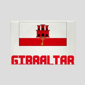 Gibraltar Flag Design Magnets