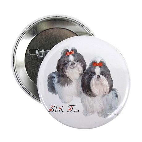 Shih Tzu Cameo Button (100 pk)