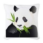 Panda Bear Woven Throw Pillow