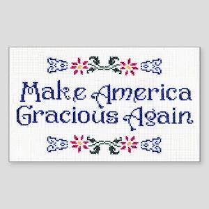 Make America Gracious Again Sticker