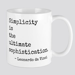 Simplicity Sophistication Mug