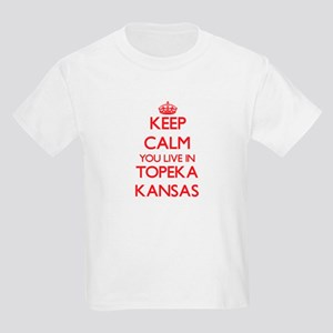 Keep calm you live in Topeka Kansas T-Shirt