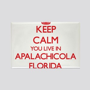 Keep calm you live in Apalachicola Florida Magnets