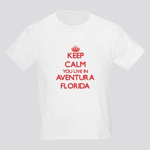 Keep calm you live in Aventura Florida T-Shirt