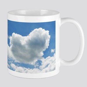 Heart in the clouds Mugs