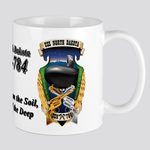 USS North Dakota SSN-784 Mugs