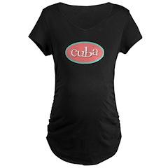 Cuba Oval Pink T-Shirt