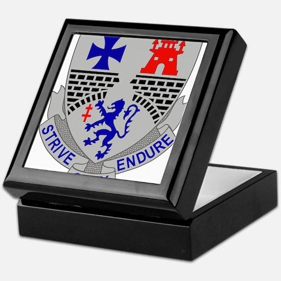 112th Infantry Regiment.png Keepsake Box
