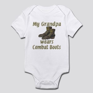 My Grandpa Wears Combat Boots Infant Bodysuit