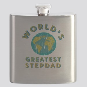 World's Greatest Stepdad Flask