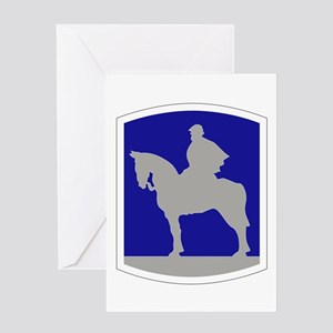 116th Infantry Brigade Combat Team Greeting Cards