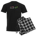 I Love Broccoli Men's Dark Pajamas