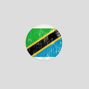 Vintage Tanzania Mini Button