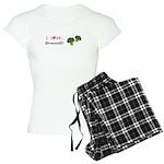 I Love Broccoli Women's Light Pajamas